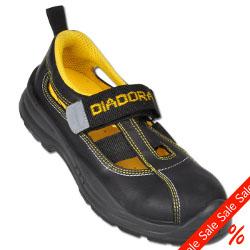 Restposten-Sicherheits- Sandale 'Parky' Diadora schwarz - Größe 38