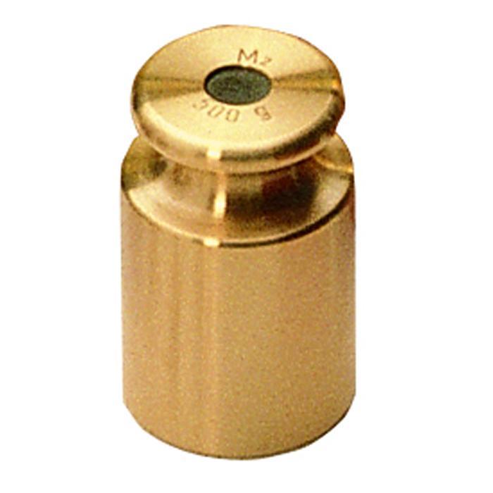 Prüfgewicht M 3 - 1 g bis 2 kg - Knopfform - Messing ...