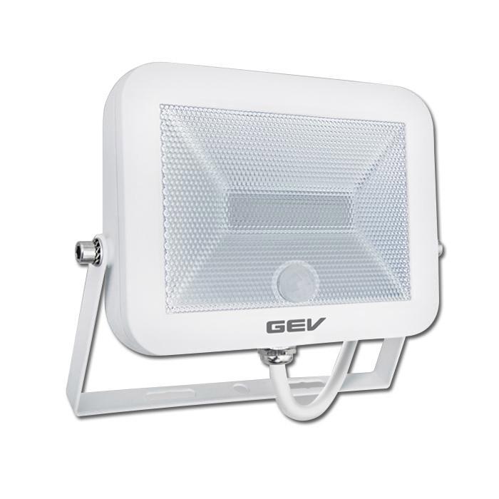 flat led strahler 20 watt mit pir sensor erfassungsbereich 160. Black Bedroom Furniture Sets. Home Design Ideas