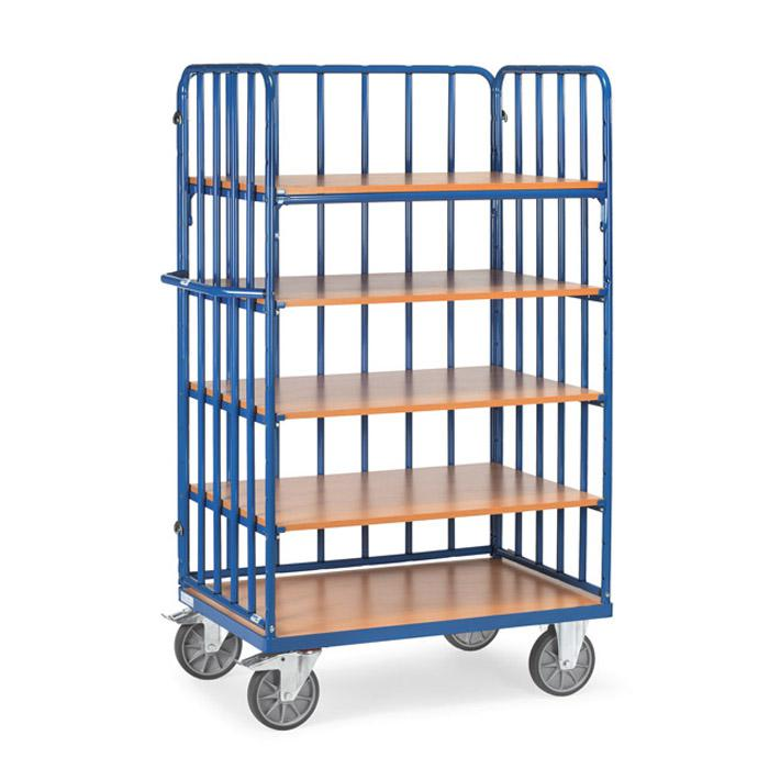 etagenwagen mit streben 600 kg 5 b den aus holz. Black Bedroom Furniture Sets. Home Design Ideas