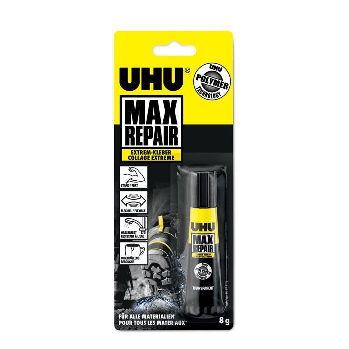 uhu max repair extrem kleber ohne l sungsmittel von. Black Bedroom Furniture Sets. Home Design Ideas