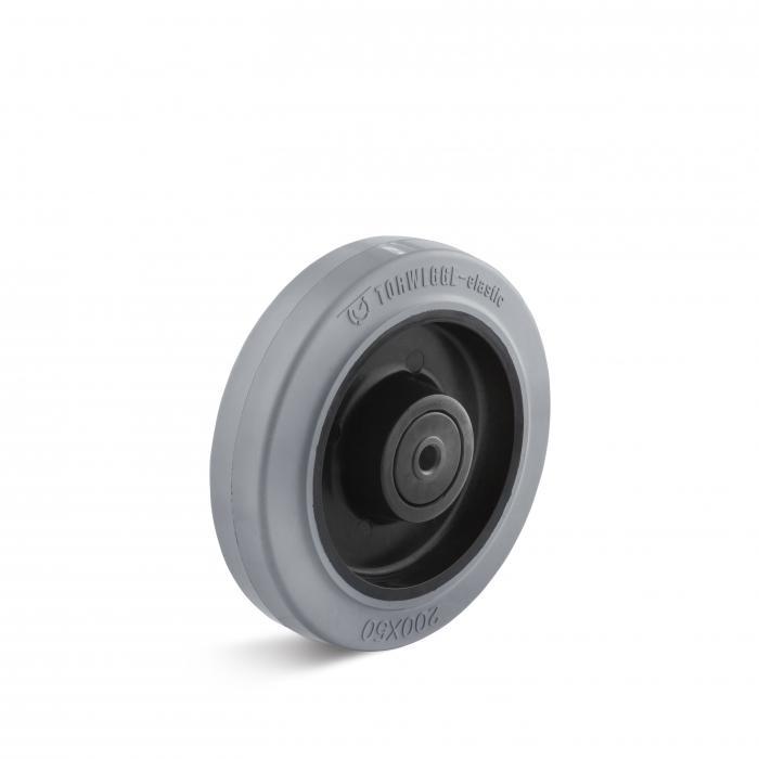 elastik vollgummir der grau bis 350 kg rad bis 200 mm. Black Bedroom Furniture Sets. Home Design Ideas