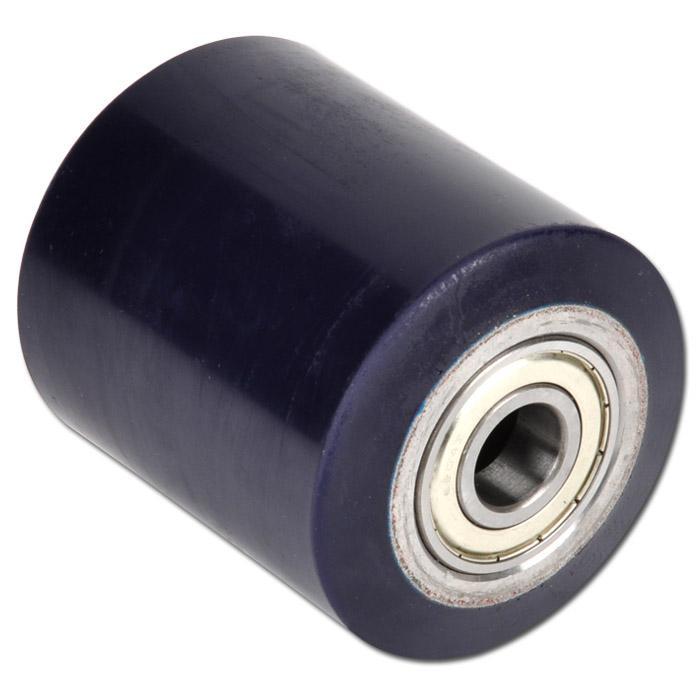 elastik polyurethan hubwagenrollen tragkraft 700 950 kg radk rper aus stahl mit. Black Bedroom Furniture Sets. Home Design Ideas