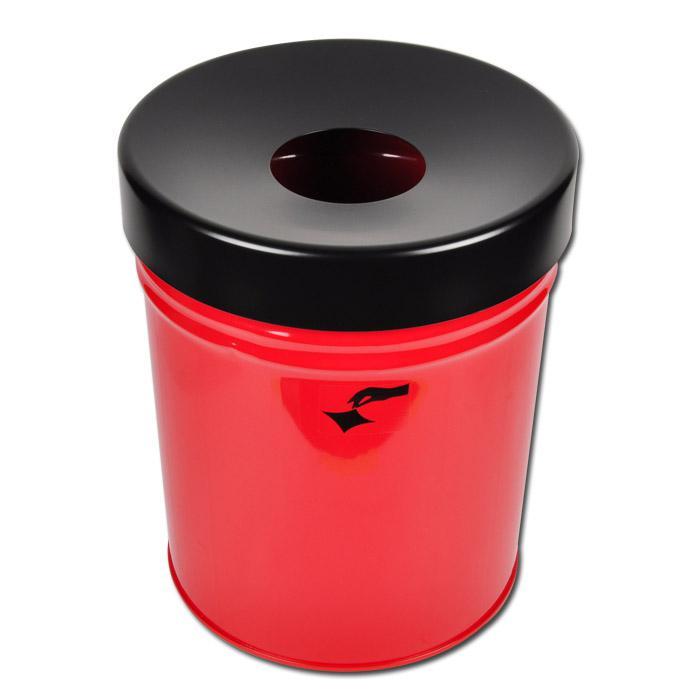 abfallbeh lter fire ex volumen ca 30 liter feuerhemmend. Black Bedroom Furniture Sets. Home Design Ideas