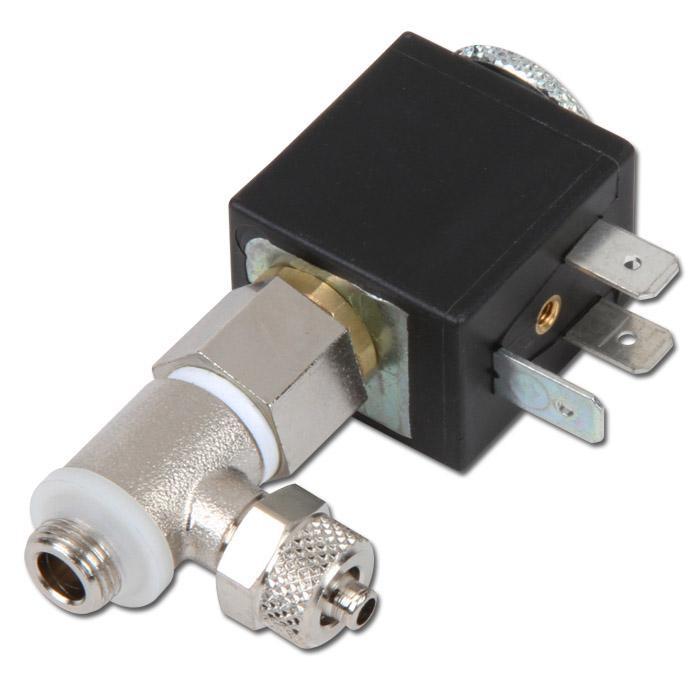 3/2-Wege Micro-Modular-Magnetventile - NC oder NO - mit CK-Anschluss ...
