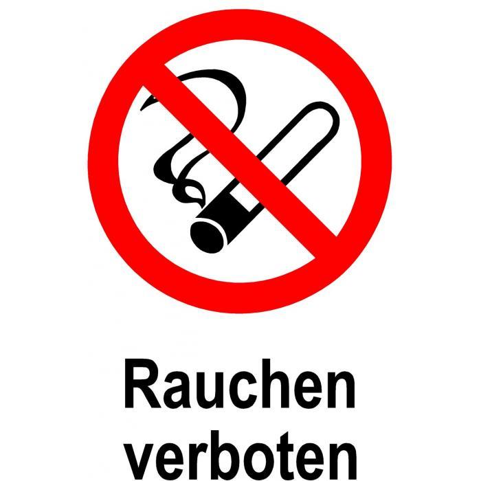 verbotsschild rauchen verboten 20x30cm 30x45cm. Black Bedroom Furniture Sets. Home Design Ideas