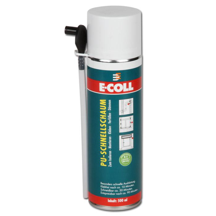 pu schnellschaum 500 ml fckw frei baustoffklasse b2 din 4102 e coll. Black Bedroom Furniture Sets. Home Design Ideas