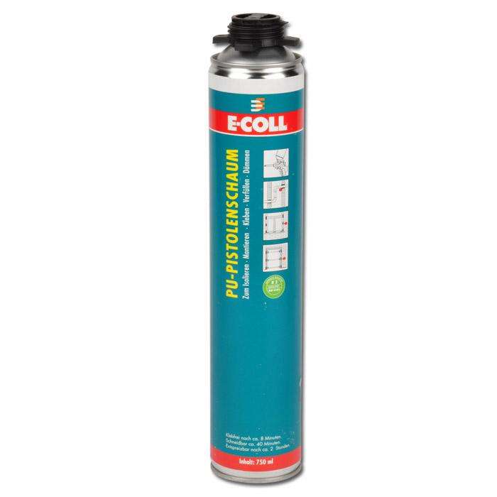 pu pistolenschaum 750ml baustoffklasse b2 din 4102 e coll. Black Bedroom Furniture Sets. Home Design Ideas