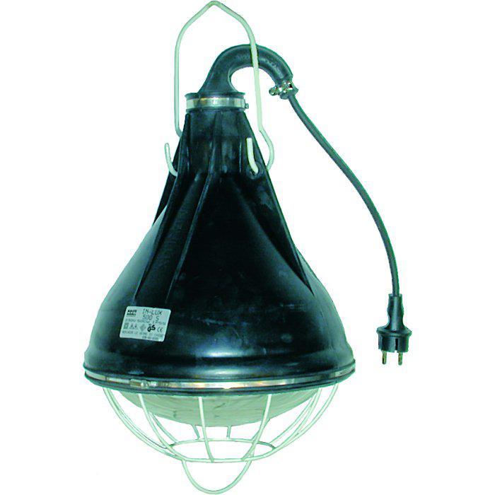 Bau industrieleuchte ip 55 500 w strahlwassergesch tzt for Lampen 500 lux