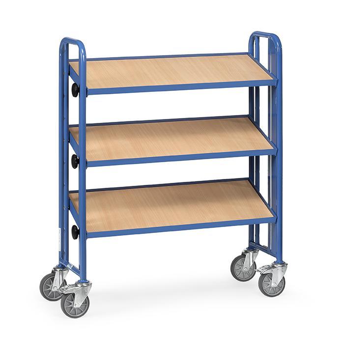 montagewagen mit 3 neigbaren b den aus holz 250 kg. Black Bedroom Furniture Sets. Home Design Ideas