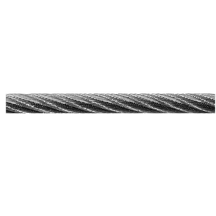 Stahldrahtseil - 6x19+Fasereinlage - verzinkt - DIN 3060