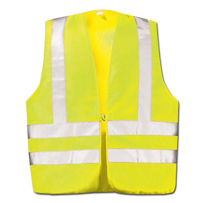 warnweste din en 471 klasse 2 gelb orange mit schulterreflex gr l xl. Black Bedroom Furniture Sets. Home Design Ideas