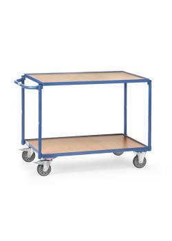tischwagen mit 2 b den aus holz griff waagerecht 300 kg. Black Bedroom Furniture Sets. Home Design Ideas