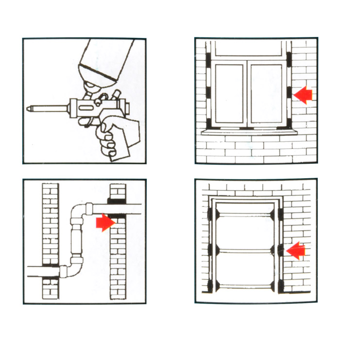 pu pistolenschaum 750ml baustoffklasse b2 din 4102 e coll. Black Bedroom Furniture Sets. Home Design Ideas