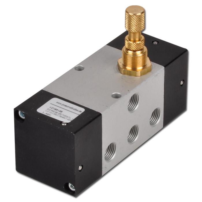5/2-Wege-Zeitventil - Standardausführung - 1-10 Sek. - 3 bis 10 bar