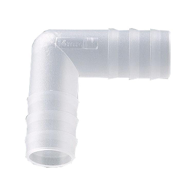 L-Stück Winkel Schlauchverbinder Kunststoff POM wählbar 3 mm 10 mm